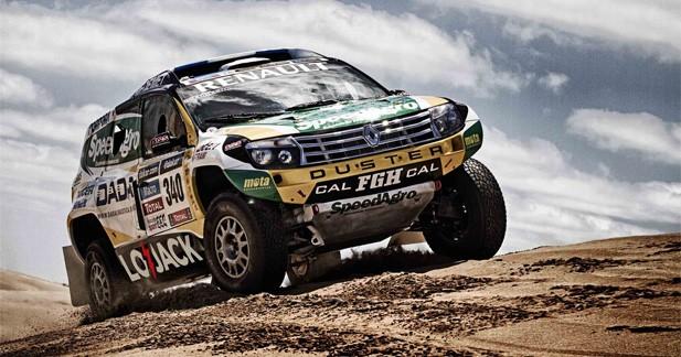 Un Duster badgé Renault participera au Dakar 2014
