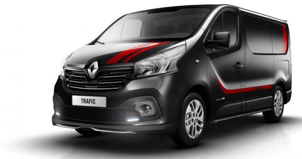 Le Renault Trafic s'offre un pack Sport+