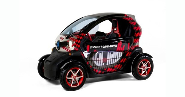 By Guetta : une Renault Twizy branchée