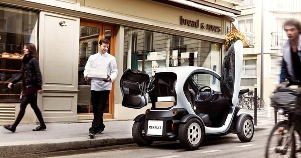 Renault Twizy Cargo : le scooture se fait la malle