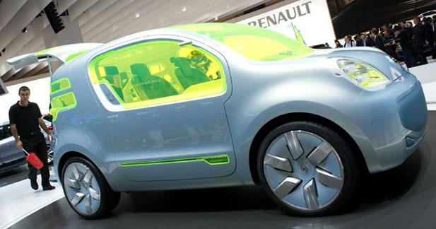 Renault Z.E. Concept : prototype survolté