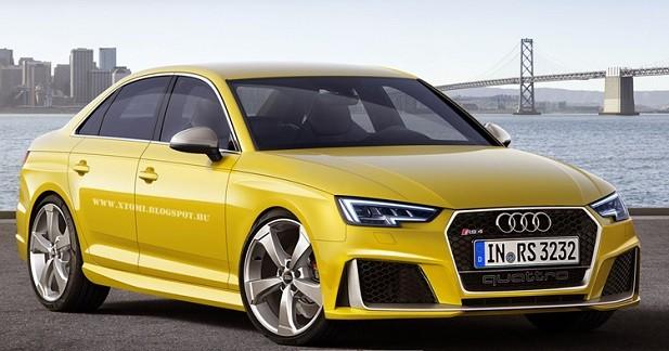 Et si Audi ressuscitait la RS4 berline?