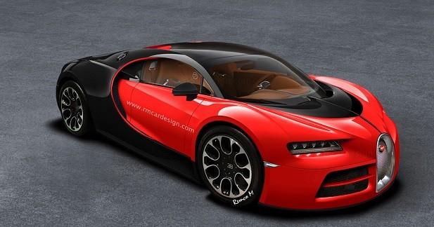 La Bugatti Vision Gran Turismo se transforme en Chiron