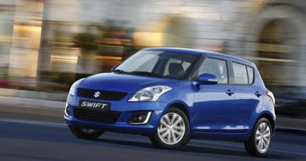 Un discret restylage attendu sur la Suzuki Swift