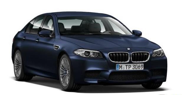 Restylage BMW M5 : La puissance avant tout