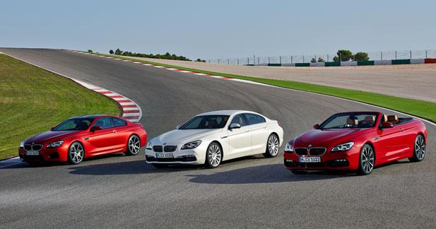 BMW met à jour la Série 6 sous toutes ses formes