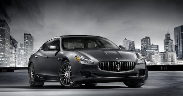 Petite mise à jour chez Maserati