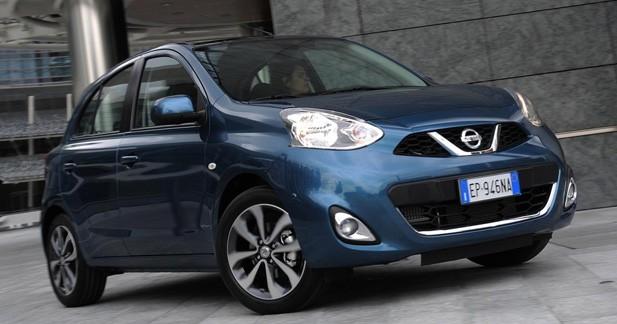Restylage Nissan Micra : les rondeurs en moins