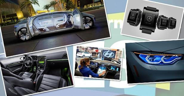 Retour sur les dernières innovations automobiles du CES 2015