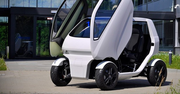 EO Smart Connecting Car 2: La citadine de demain
