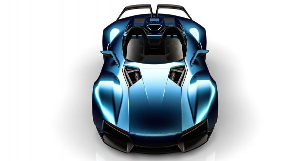 Rezvani Beast X : jet à 4 roues