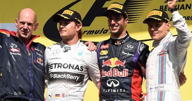 GP de F1 de Belgique : Ricciardo vainqueur