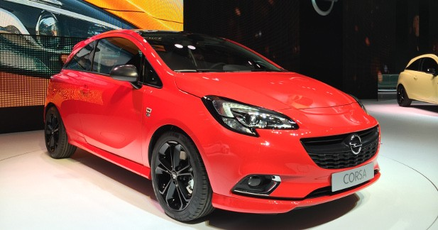 mondial auto 2014 opel corsa. Black Bedroom Furniture Sets. Home Design Ideas