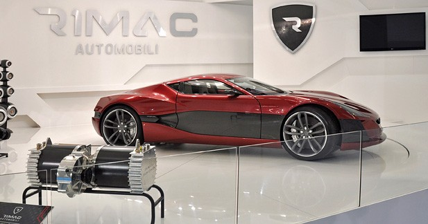 Rimac One Concept : Mystère croate...