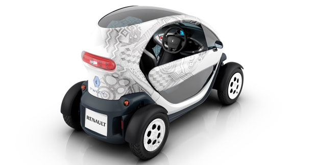 Renault à Parly 2 pour faire découvrir la Fluence ZE et Twizy