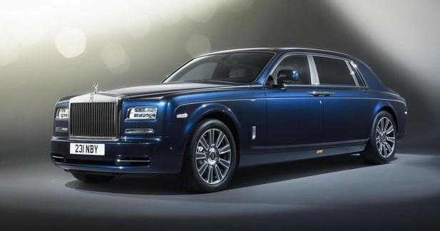 Rolls-Royce Phantom Limelight Collection: pour briller en société