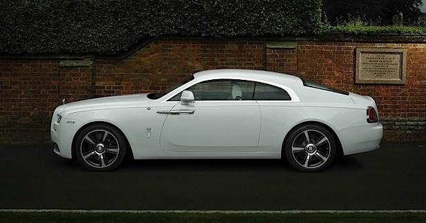 Une Rolls-Royce Wraith pour les amateurs de rugby