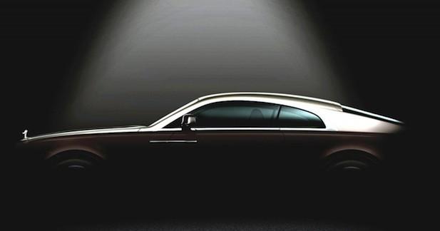 La Rolls-Royce Wraith prête à entrer dans l'Histoire de la marque