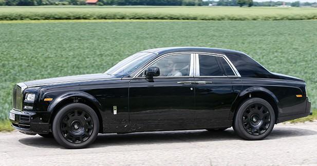 Spyshot : un futur SUV Cullinan chez Rolls Royce