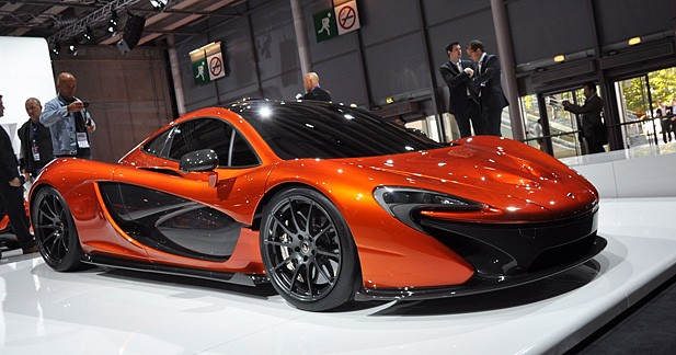 de nouveaux d tails sur la mclaren p1. Black Bedroom Furniture Sets. Home Design Ideas