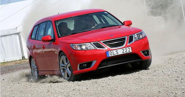 Saab 9-3 Sport-Hatch restylée : émancipation accélérée