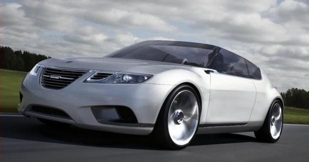Saab 9-X Air Concept : cabriolet du futur