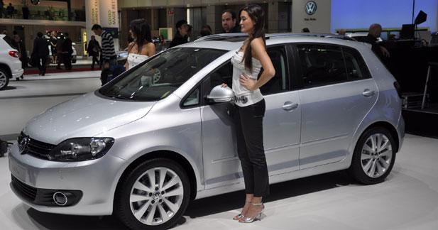 Volkswagen Golf Plus restylée