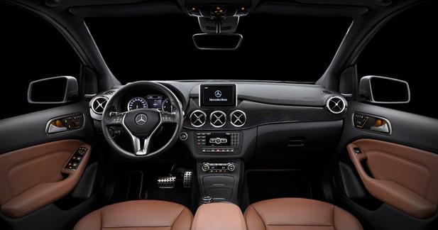Mercedes classe b 2012 ascendant berline for Interieur nouvelle classe a