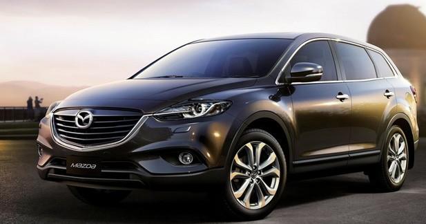 Mazda CX-9 : deuxième restylage