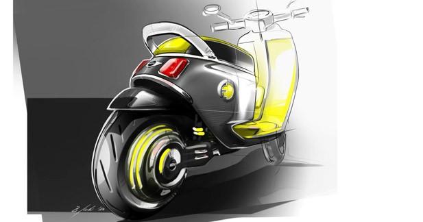 Un scooter électrique chez Mini