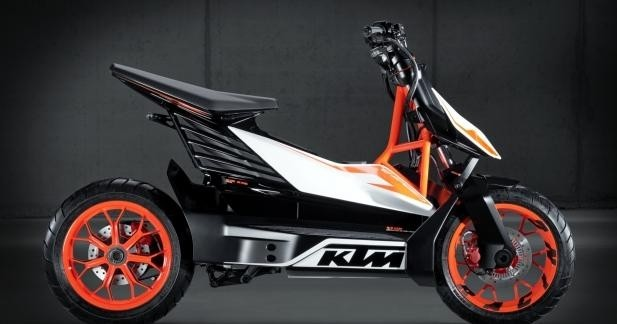 Scooter KTM e-speed : production en série en 2015 !