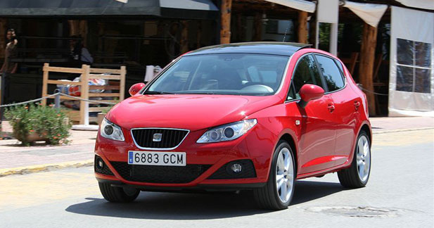 seat ibiza 1 6 tdi 90 downsizing la mode ib re. Black Bedroom Furniture Sets. Home Design Ideas