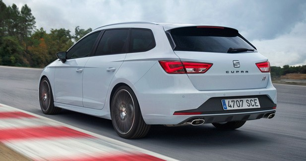 Seat Leon ST Cupra: la gamme sportive s'agrandit
