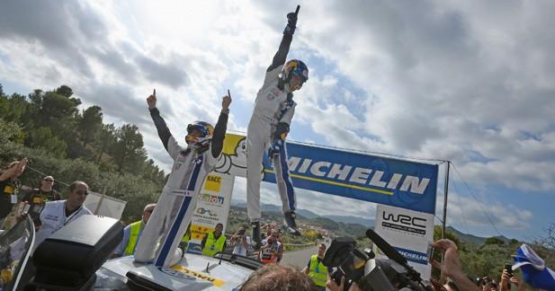 Deuxième titre de champions du monde des rallyes pour Sébastien Ogier et Julien Ingrassia