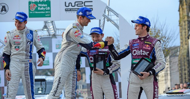 WRC – Grande-Bretagne: Ogier conclut en beauté