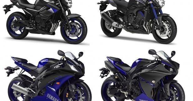 Séries spéciales Yamaha Race Blu 2014