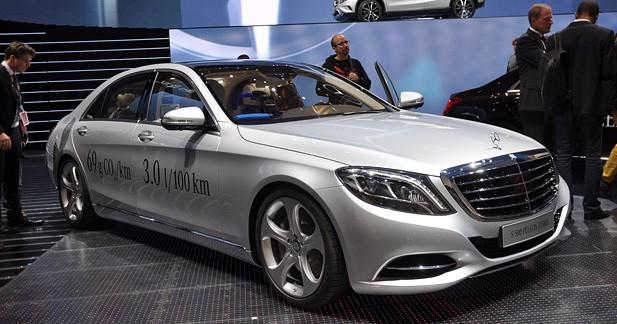 Mercedes lance la S500 Plug-in Hybrid