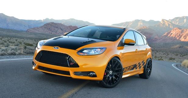 Shelby relooke la Ford Focus ST