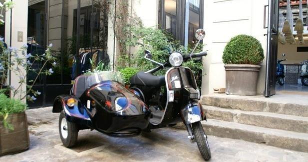 Sidecar LML Tristar, le scooter attelé !