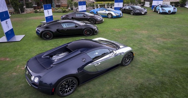 Six voitures pour pas moins de 13 millions d'euros !