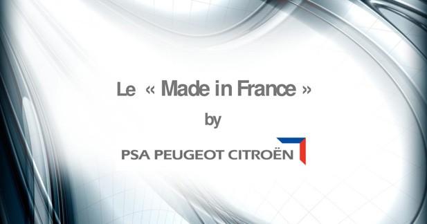 Le ''Made in France'' récompensé chez PSA