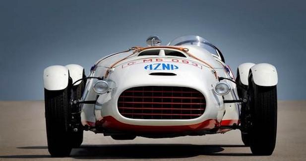 Lancée à près de 200 km/h en 1953
