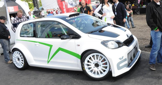 Skoda dévoile la Citigo Rally Concept à Worthersee