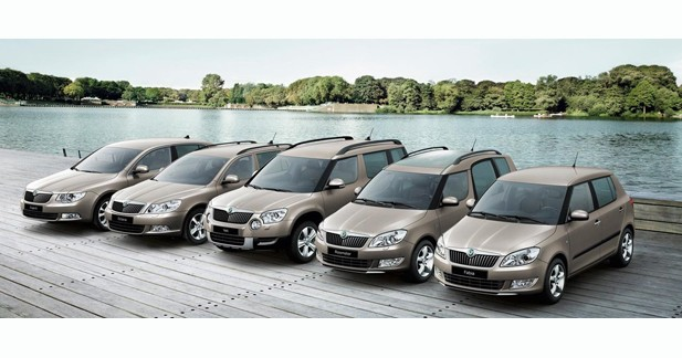 Skoda : record de ventes au mois d'août
