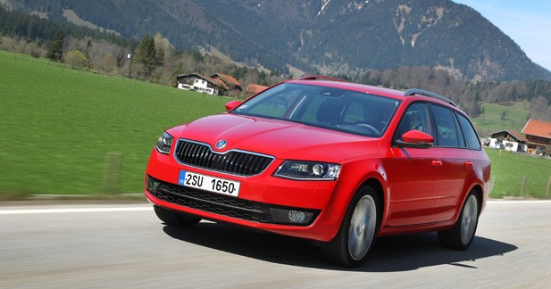 essai skoda octavia combi 1 6 tdi 105 ch dsg7 elle fait le break. Black Bedroom Furniture Sets. Home Design Ideas