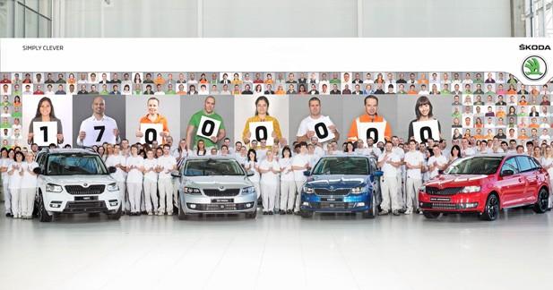 Skodapasse la barre des 17 millions de voitures produites