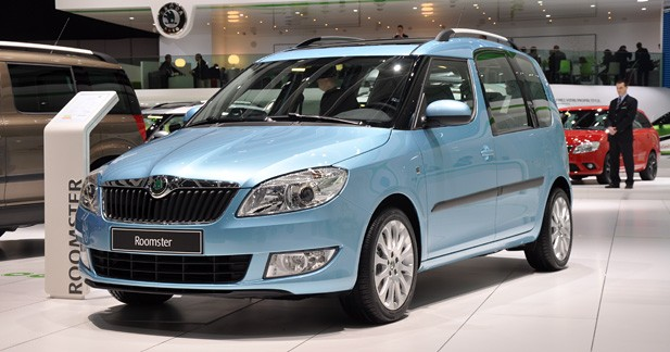 Skoda Roomster restylé : petite mise au point
