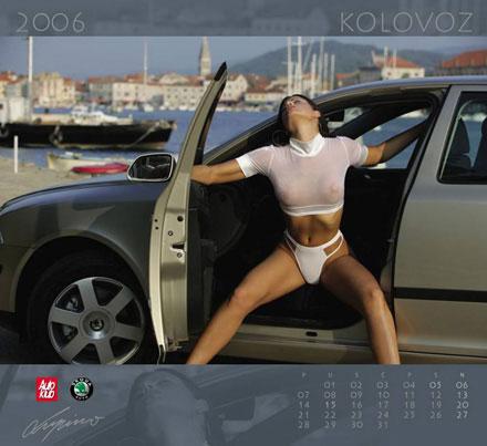 Skoda's Babes : le calendrier 2006