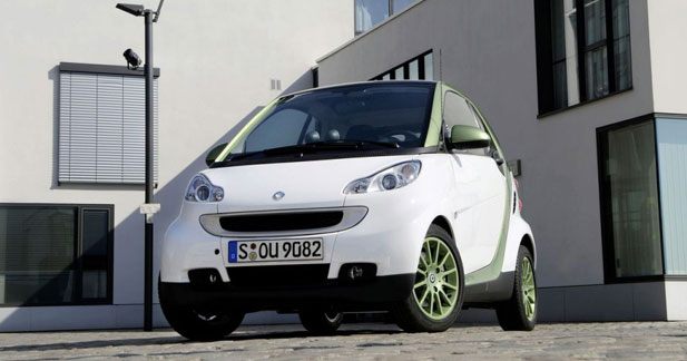 Smart Fortwo ED : mademoiselle 220 Volts