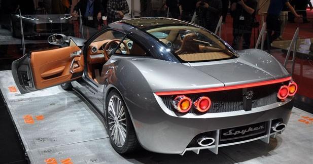 Spyker B6 Venator Concept: Retour aux sources